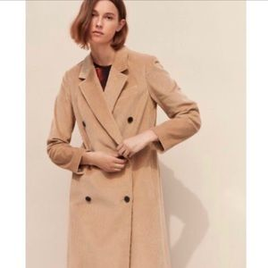 Aritzia Babaton 101 Corduroy Coat